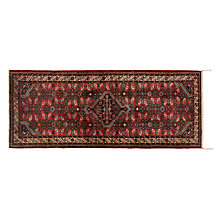 Buy Tajabad Handmade Runner, Red, L200 x W80cm Online at johnlewis.com