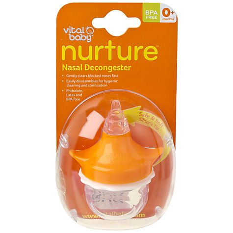 Buy Vital Baby Nurture Nasal Decongester Online at johnlewis.com