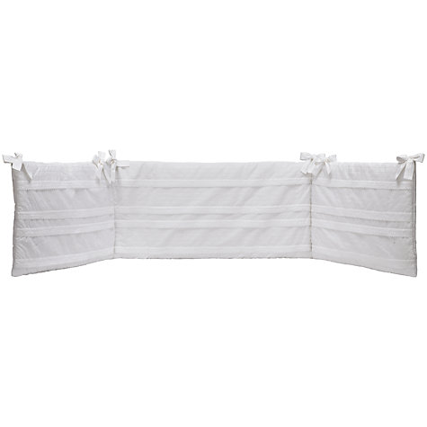Buy John Lewis Heritage Bumper, White Online at johnlewis.com