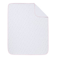 Buy John Lewis Baby Swaddling Blanket, Pink Online at johnlewis.com