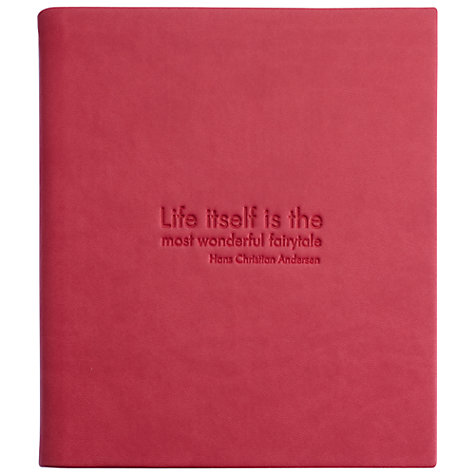 Buy NOOK Anderson Quote Cover for NOOK Simple Touch, Pink Online at johnlewis.com
