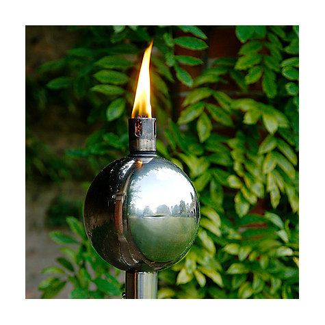 Buy Foras Salm Polished Burner with Black Pole Online at johnlewis.com