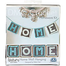 Buy DMC Home Wall Hanging Crochet Kit Online at johnlewis.com