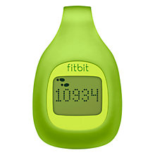 Buy Fitbit Zip, Wireless Activity Tracker, Green Online at johnlewis.com