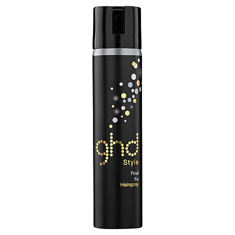 Buy ghd Final Fix Hairspray, 75ml Online at johnlewis.com