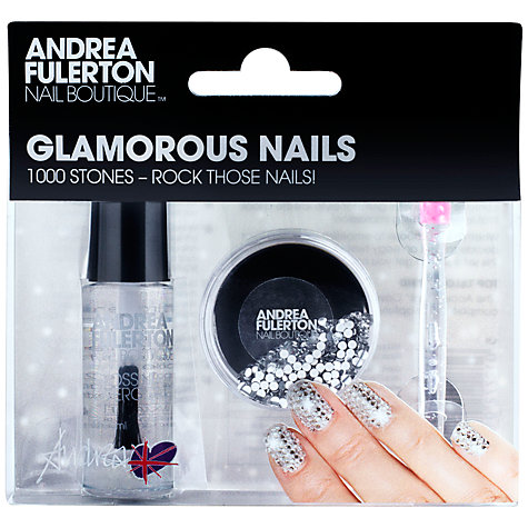 Buy Andrea Fulerton Nail Boutique Glamorous Nails Crystal Gemstones (Pot of 1000) Online at johnlewis.com
