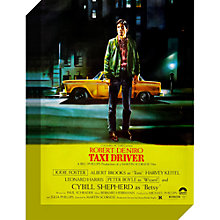 Buy John Lewis Taxi Driver Movie Poster Print on Canvas, 30 x 40cm Online at johnlewis.com