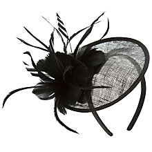 Buy John Lewis Kay Lace Disc Fascinator Online at johnlewis.com