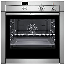 Buy Neff B44M42N3GB Single Electric Oven, Stainless Steel Online at johnlewis.com