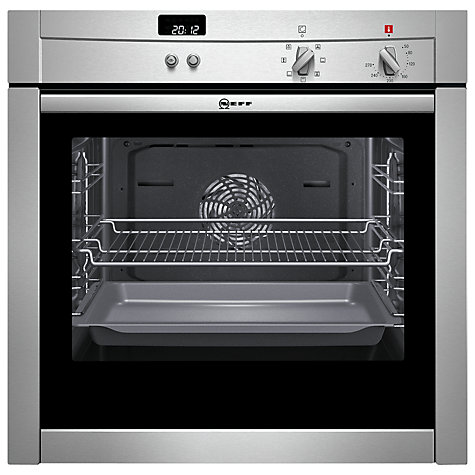 Buy Neff B44M42N3GB Slide and Hide Single Electric Oven, Stainless Steel Online at johnlewis.com