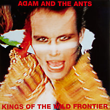 Buy Art Vinyl Kings of the Wild Frontier by Adam and the Ants Online at johnlewis.com