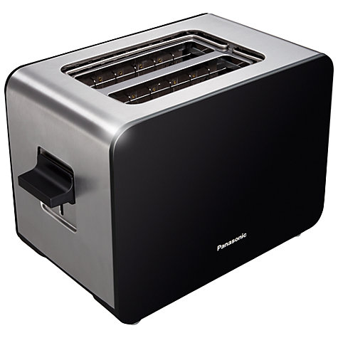 Buy Panasonic NT-DP1BXC 2-Slice Toaster, Black Online at johnlewis.com