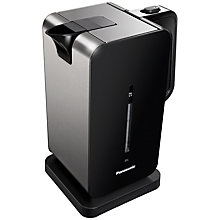 Buy Panasonic Kettle and 2-Slice Toaster, Black Online at johnlewis.com