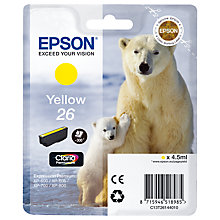 Buy Epson T2614 Yellow Ink Cartridge Online at johnlewis.com