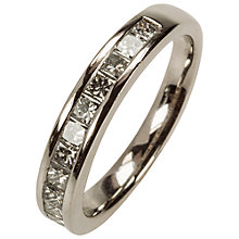 Buy Mitch Preston 12 Stone Diamond Platinum Eternity Ring Online at johnlewis.com