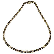 Buy Mitch Preston 18ct White Gold 137 Diamond Claw Set Collarette Necklace Online at johnlewis.com