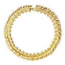 Buy Susan Caplan Vintage 1950s Gold Plated Seagrass Collar Necklace Online at johnlewis.com