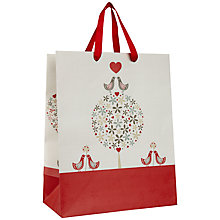 Buy John Lewis Valentine's Day Birds Gift Bag, Medium Online at johnlewis.com