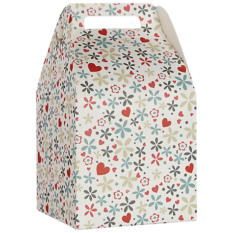 Buy John Lewis Valentine's Pop Up Gift Bag, Small Online at johnlewis.com