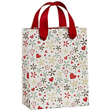 Buy John Lewis Valentine's Day Birds Gift Bag, Mini Online at johnlewis.com
