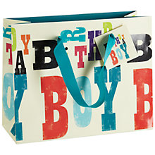 Buy Art File Birthday Boy Gift Bag, Multi Online at johnlewis.com