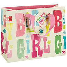 Buy Art File Birthday Girl Gift Bag, Multi Online at johnlewis.com