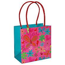 Buy Belly Button Piccadilly Flowers Gift Bag, Multi, Small Online at johnlewis.com