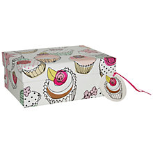 Buy Caroline Gardner Cupcake Gift Box, Multi, Medium Online at johnlewis.com