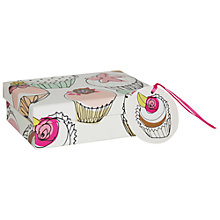 Buy Caroline Gardner Cupcake Gift Box, Multi, Small Online at johnlewis.com