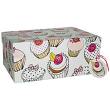 Buy Caroline Gardner Cupcake Gift Box, Multi, Large Online at johnlewis.com