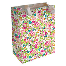 Buy Caroline Gardner Ditsy Gift Bag, Multi, Medium Online at johnlewis.com
