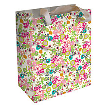 Buy Caroline Gardner Ditsy Gift Bag, Multi, Small Online at johnlewis.com