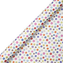 Buy John Lewis Spot Wrapping Paper, Multi, L3m Online at johnlewis.com