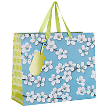 Buy John Lewis Oriental Blossom Gift Bag, Multi, Medium Online at johnlewis.com