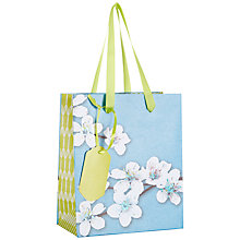 Buy John Lewis Oriental Blossom Gift Bag, Multi, Mini Online at johnlewis.com
