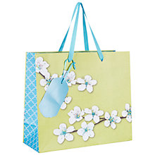 Buy John Lewis Oriental Blossom Gift Bag, Multi, Small Online at johnlewis.com