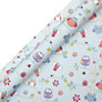 John Lewis Owls Wrapping Paper, Blue, L3m