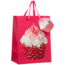 Buy John Lewis Photo Cupcake Gift Bag, Multi, Small Online at johnlewis.com