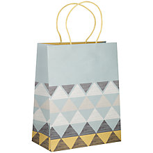 Buy John Lewis Pioneer Gift Bag, Multi, Medium Online at johnlewis.com