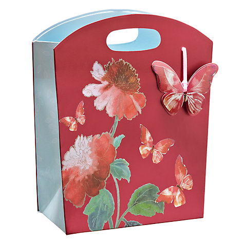 Buy John Lewis Premium Floral Gift Bag, Multi, Mini Online at johnlewis.com