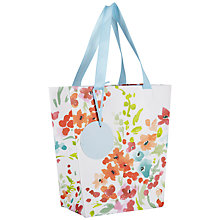 Buy John Lewis Watercolour Gift Bag, Multi, Small Online at johnlewis.com