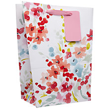 Buy John Lewis Watercolour Gift Bag, Multi, Medium Online at johnlewis.com