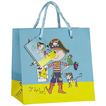 Buy Rachel Ellen Designs Pirate Gift Bag, Multi, Small Online at johnlewis.com