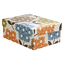 Buy Orla Kiely Rhododendron Gift Box, Multi, Small Online at johnlewis.com