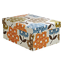 Buy Orla Kiely Rhododendron Gift Box, Multi, Medium Online at johnlewis.com