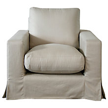 Buy John Lewis Belle Armchair, Latte Online at johnlewis.com