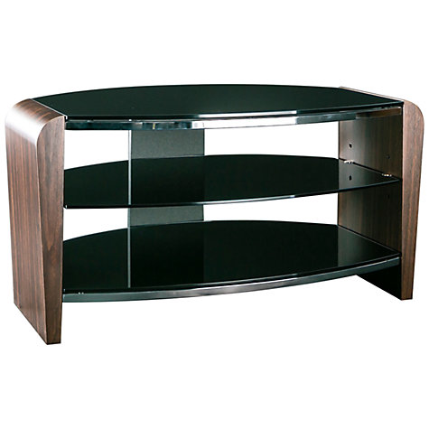 Buy Alphason Francium 80 TV Stand for up to 37-inch TVs, Black/Walnut Online at johnlewis.com