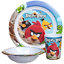Buy Angry Birds 3 Piece Dinner Set Online at johnlewis.com