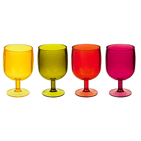 Buy House by John Lewis Stacking Wine Glasses, Set of 4 Online at johnlewis.com