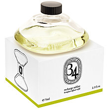 Buy Diptyque 34 Boulevard Saint Germaine Hour Glass Diffuser Refill, 75ml Online at johnlewis.com
